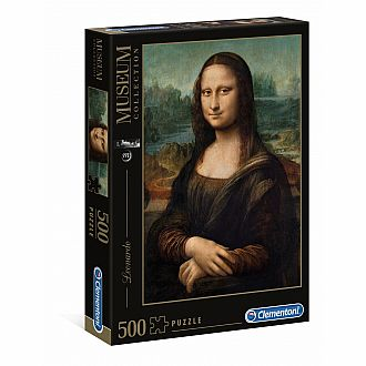 Mona Lisa - 500 pc puzzle