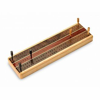 Cribbage - Maple Marquetry