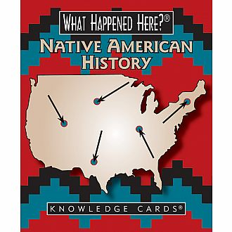 What Happened Here Native American History Knowledge Cards