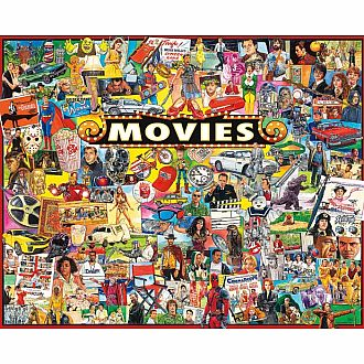 Movies (White Mountain Puzzles - 1000pc)