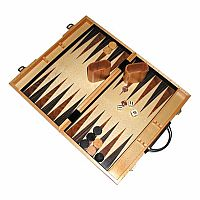 "Backgammon 18"" Wood Folding"