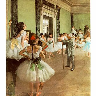 The Dance Class - Degas