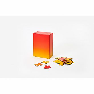 Small Gradient Puzzle Red/Yellow