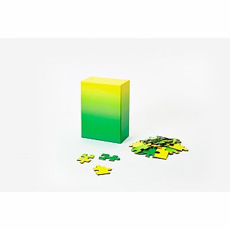 Small Gradient Puzzle Green/Yellow