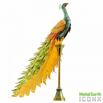 ICONX: Peacock Metal Earth