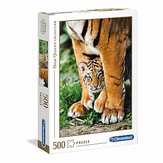 Bengal Tiger Cub - 500 pc puzzle