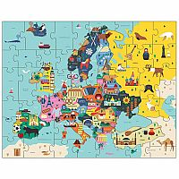 Geography Puzzle - Europe Map