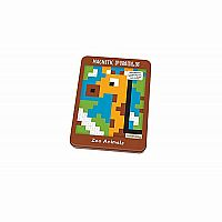 Magnetic Pixels: Zoo Animals