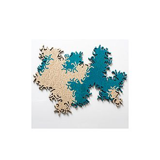 Maze Infinity Puzzle: Turquoise+Natural