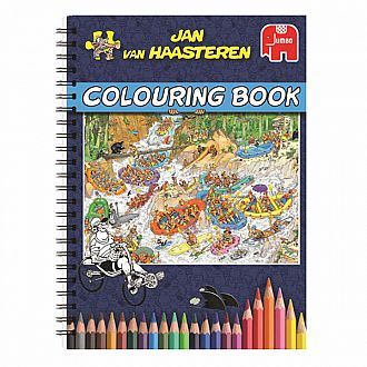 Coloring Book - Jan van Houste