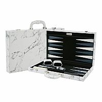 Marble Backgammon 18""