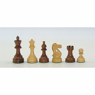 "Chessmen: 3.75"" Kikkerwood"