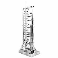Metal Earth - Apollo Saturn V With Gantry