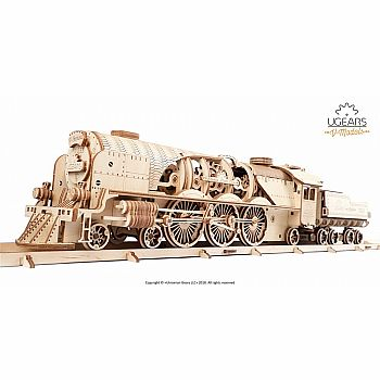 UGears 3D: V-Express Steam Train with Tender