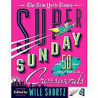The New York Times Super Sunday Crosswords Volume 4