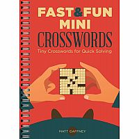 Fast & Fun Mini Crosswords