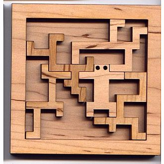 Trapped Man Puzzle - 12 puzzles in 1