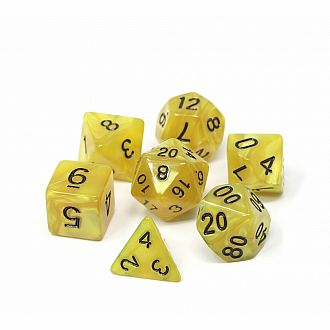 Gold Doubloons Dice Set