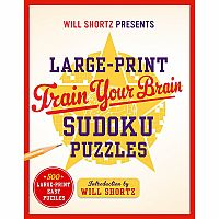 Train Your Brain Sudoku (Large Print)