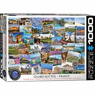 The Globetrotter Puzzles - France