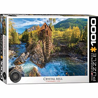 HDR Photography Puzzles - Crystal Mill