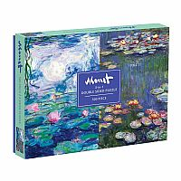 Monet 2-Sided Puzzle