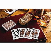 Antler (Tobacco Brown) Playing Cards