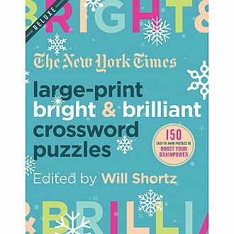 NYT: Large Print Bright & Brilliant Crossword Puzzles