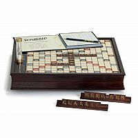 Deluxe Scrabble - Wooden Edition