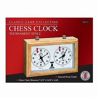 Chess Clock - analog tournament style