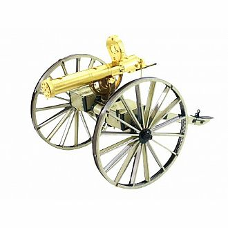 Wild West Gatling Gun - Color