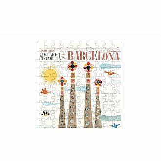 Micropuzzle Barcelona