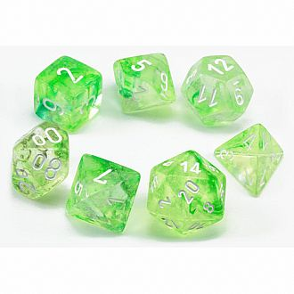 Nebula Dice Set Spring