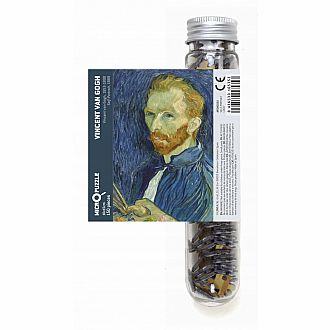 Micropuzzle - Van Gogh: Self Portrait