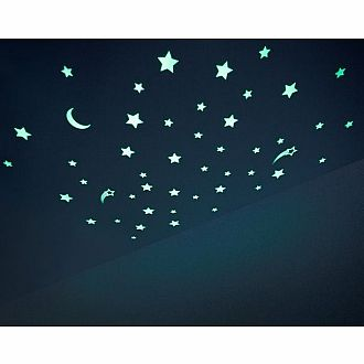 Starry Night Glow Stickers