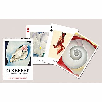 Georgia O'Keeffe Playing Cards