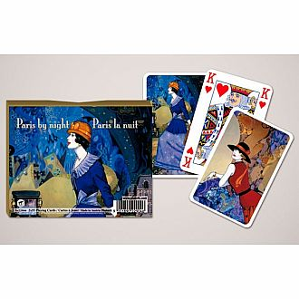 Paris By Night Playing Cards