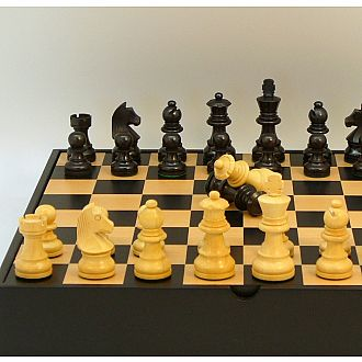 "Chess set: 2.75"" King With Storage Chest"