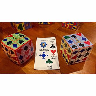 Jokers Wild Super Cube Maze