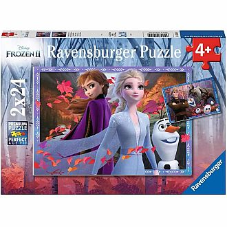 Frosty Adventures - Frozen 2 puzzle