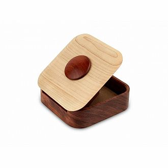 Terra I Locking Puzzle Box