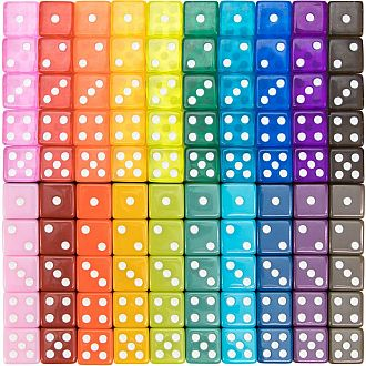 Miami Dice Assorted - 16mm