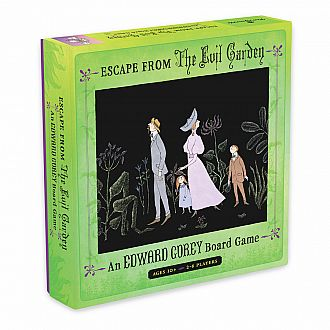 Edward Gorey: Escape from the Evil Garden