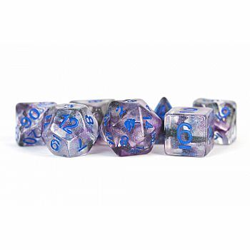 Unicorn Resin Polyhedral Dice: Stellar Storm