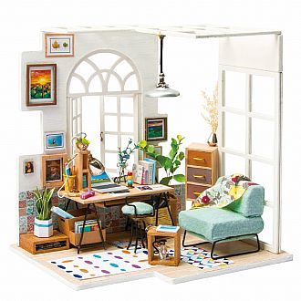 SOHO Time DIY Miniature House