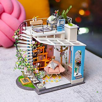 Dora's Loft DIY Miniature House