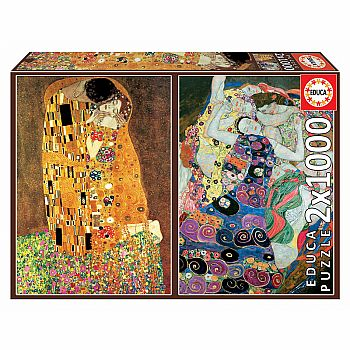 Klimt Art Collection - Set of 2 Puzzles
