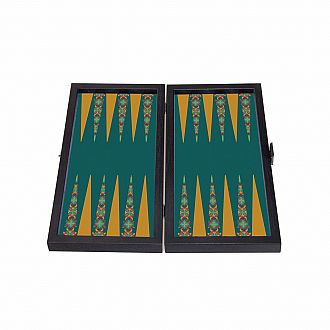 "12"" Travel Size Backgammon - Floral"