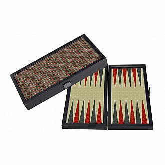 "12"" Travel Size Backgammon - Kashani"