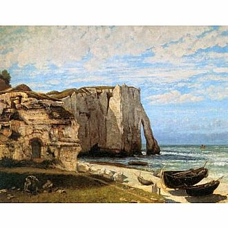 The Cliff at Etretat (Ricordi Arte - 1000pc)